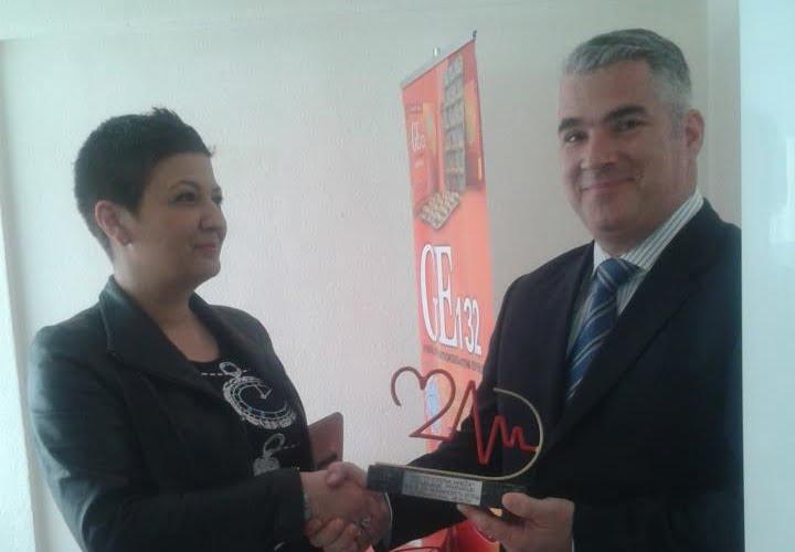 G. Ivan Vajs sa TV voditeljicom