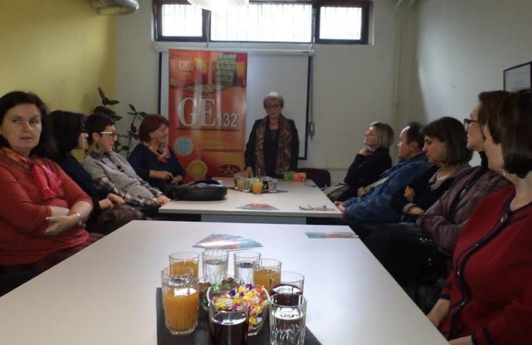 Predavanje o GE132 članovima Udruženja oboljelih od multiple skleroze