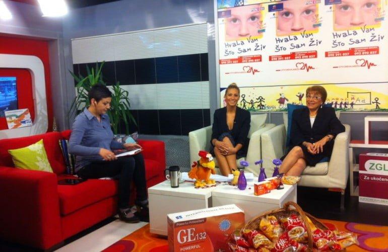 Nina Rajčić i Berina Spahalić, na TV Pink BH