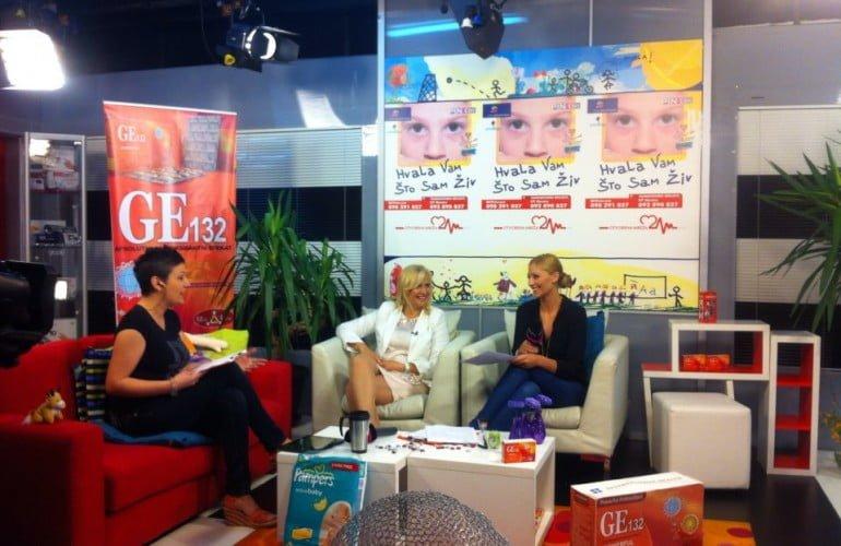 Saša Zvizdić i Berina Spahalić na TV Pink BH