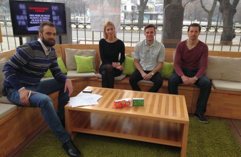 Druženje sa igračima FK Željezničar na Face TV